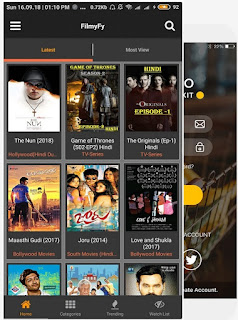 Latest Movie HD, best movie app,  FilmyFy