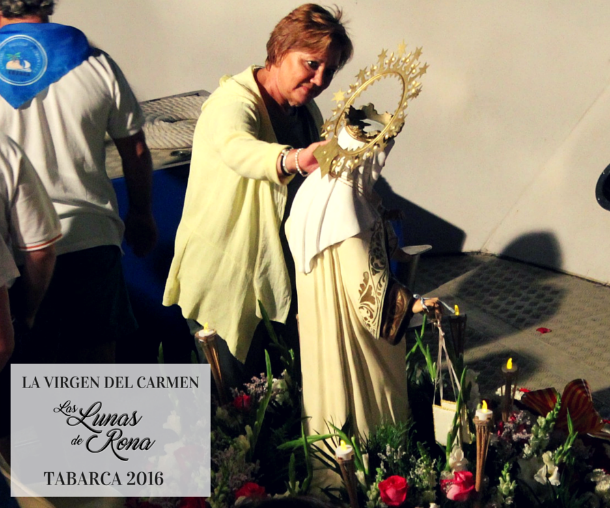 Virgen del Carmen de Tabarca procesion