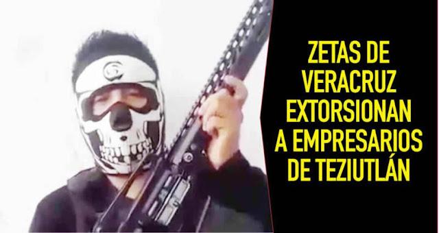 """VIDEO: """"Si te vamos a visitar a tu local, no te pongas pendejo porque si nos empiezas a poner con los ministeriales te vamos a partir tu madre Zetas amenazan a empresarios en Veracruz"""