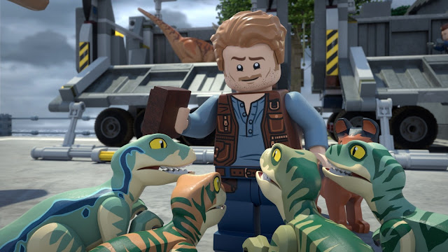 """LEGO Jurassic World: The Secret Exhibit"""