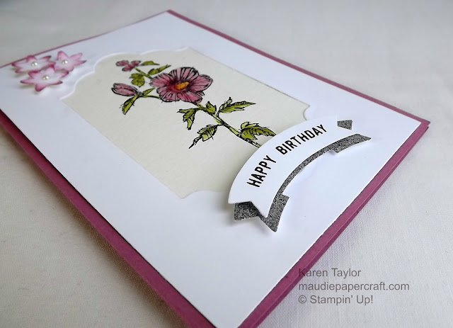 Stampin' Up! Fabulous Flora and Thoughtful Banners card