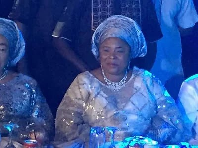 Photos: Aisha Buhari, Patience Jonathan, Obasanjo, Dino Melaye, Aliko Dangote, Femi Otedola, Chris Ngige, others at Bukola Saraki's daughter's wedding (PHOTOS)