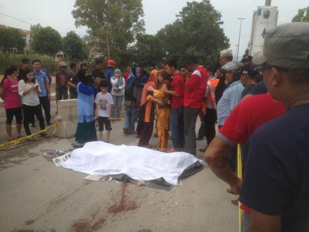 Kemalangan Maut, Penduduk Berang Bertindak Membakar Lori