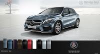 Mercedes AMG GLA 45 4MATIC 2018 màu Xanh Universe 894
