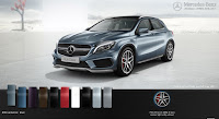 Mercedes AMG GLA 45 4MATIC 2019 màu Xanh Universe 894