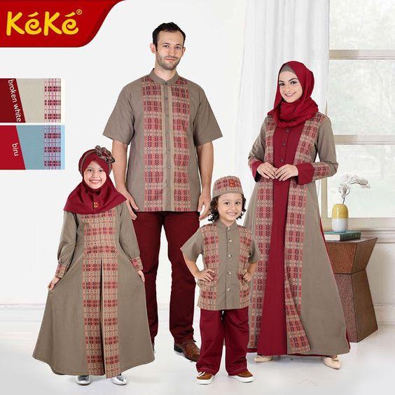 80 Model Baju Lebaran Terbaru 2019 Muslimah Trendy - Model ...