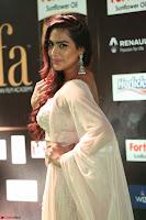 Prajna Actress in backless Cream Choli and transparent saree at IIFA Utsavam Awards 2017 0085.JPG