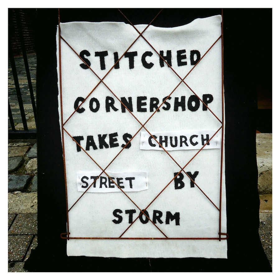 Stitched Cornershop Takes Church Street By Storm