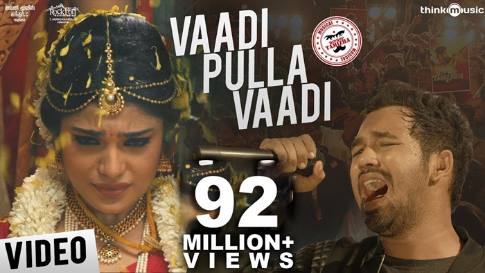Vaadi Pulla Vaadi Video song download Meesaya Murukku 2017 Tamil