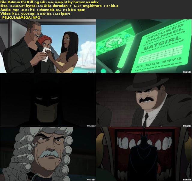 Descargar Batman: La broma asesina Latino por MEGA.