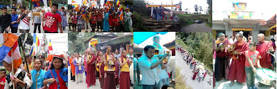2561 Buddha Jayanti Celebration around Mungpoo