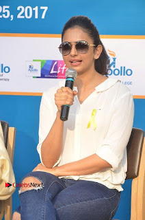 Actress Rakul Preet Singh at Endometriosis Awareness Walk at Apollo Cradle  0101.jpg