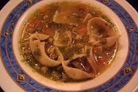 Sopa de Minestrones al Pesto