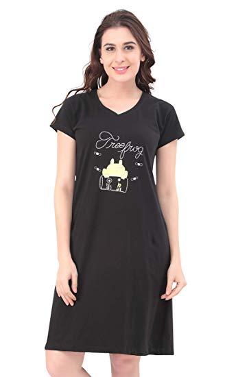 long t-shirt for night