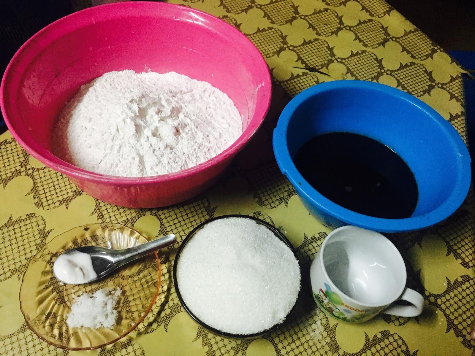 Tips Buat Kuih Kaswi Gula Merah Sukatan Cawan Yang Sedap Dan