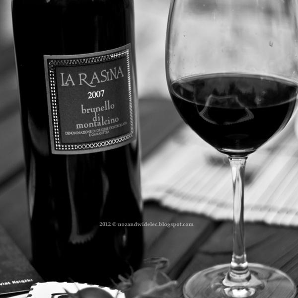 brunello, wino, la rasina