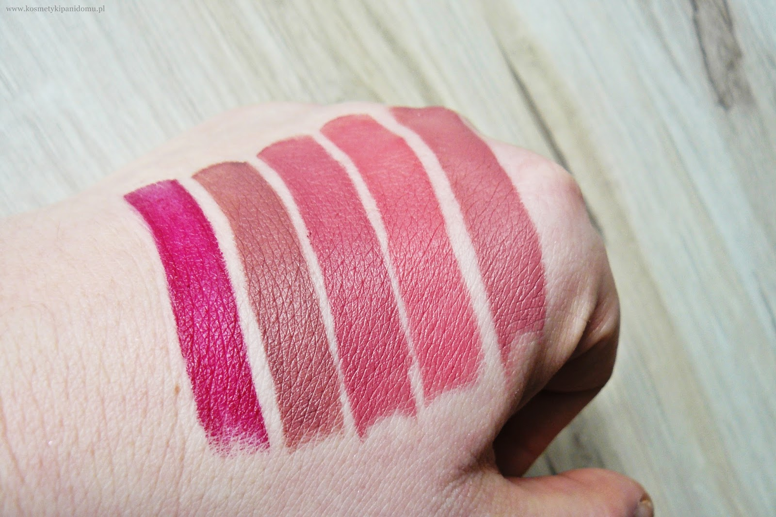 kobo szminki matowe