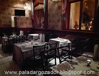 restaurante Majestic India comedor