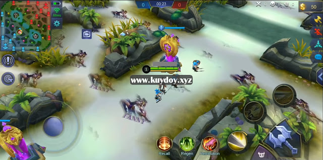 Download Mod Map Fanny Tema Diatas Awan