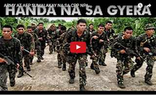 ARMY AT AFP SUMALAKAY NA SA CPP NPA
