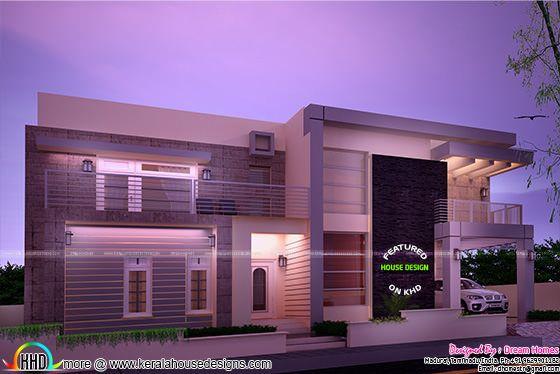 Dream contemporary home design