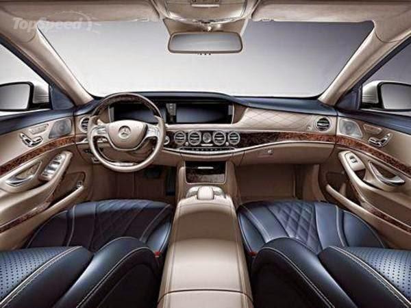 Interior Mercedes-Benz S-Class Pullman