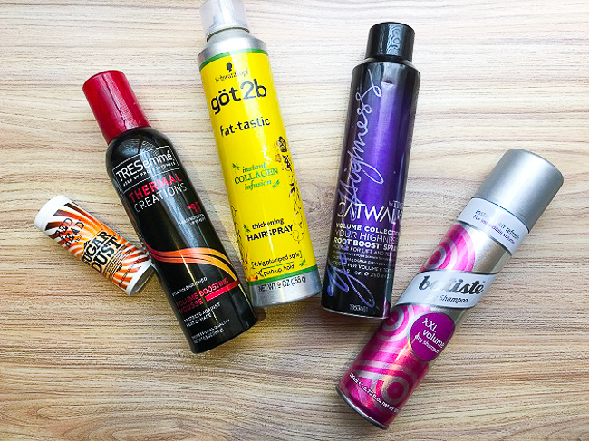 Best Hair Products for VOLUME