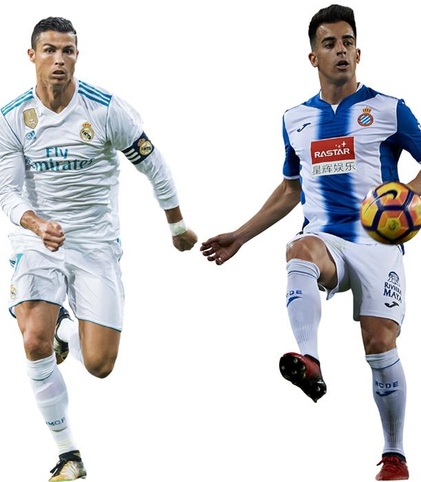 Jose Manuel Jurado dan Cristiano Ronaldo