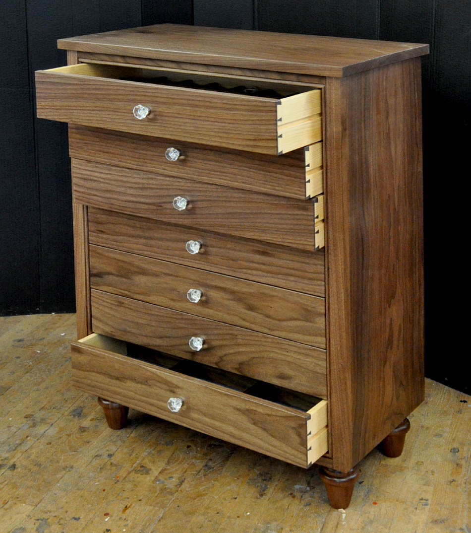 A Small Chest Of Drawers