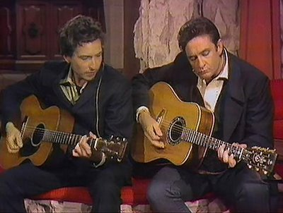 Bob Dylan e Johnny Cash - Girl from the North  Country