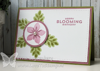 flower patch stampinup lovetostamp stampintechniques101