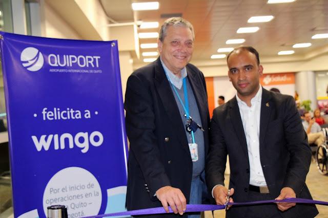 Wingo, la nueva forma de volar, realizó su vuelo inaugural desde Ecuador
