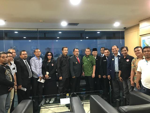 Dihadapan 9 Organisasi Pers, Rudiantara Janji Bawa Masalah Pers Indonesia ke Presiden