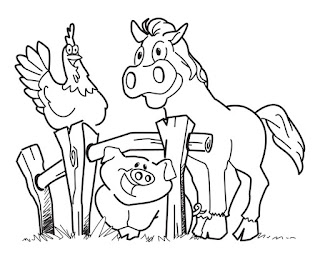 Best Farm Animals Coloring Pages Print Online For Free