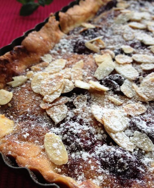Sweet Kwisine, tarte, amandine, cerises, goyave, Martinique, crème d'amandes