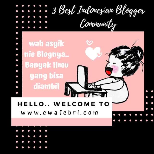 3 Best Indonesian Blogger Community