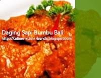masih mau ikut petualangan penulis di dunia masakan Resep Daging Sapi Bumbu Bali