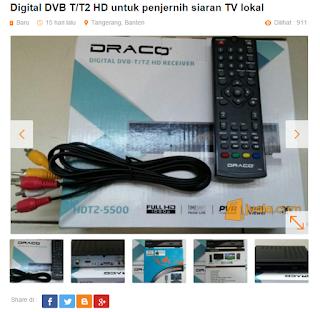 Set Top Box TV Digital Berfungsi Menjernihkan Siaran Televisi