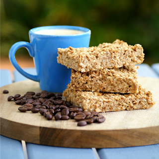 Vegan Coffee Baked Oatmeal Recipe - low fat, sugar free, gluten free, clean eating