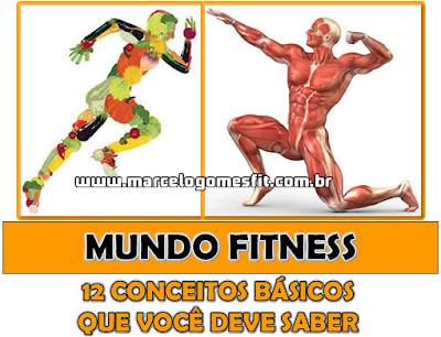 Mundo Fitness - 12 Conceitos básicos que você deve saber