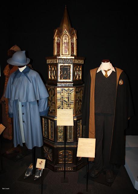 uniforme de Fleur de la cour et Cédric Diggory