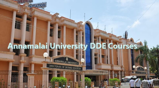 Annamalai University DDE Courses