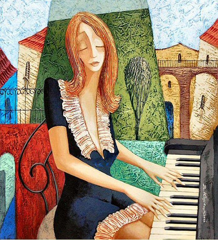 Украинский художник. Viacheslav Koretskiy 7