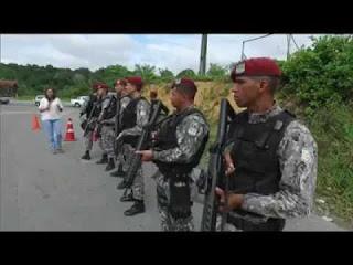 Policiais para a FDN: 'Matou um, vão morrer dez'