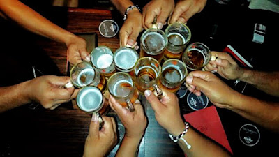 foto: Minuman pengikat persahabatan