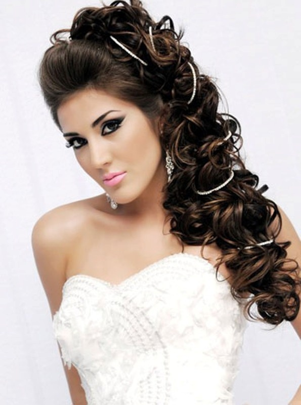 Cute And Easy Wedding Hairstyles 2015 Long Best Prom Updo Wavy Formal Bridal Hair 2016 Hairstyles
