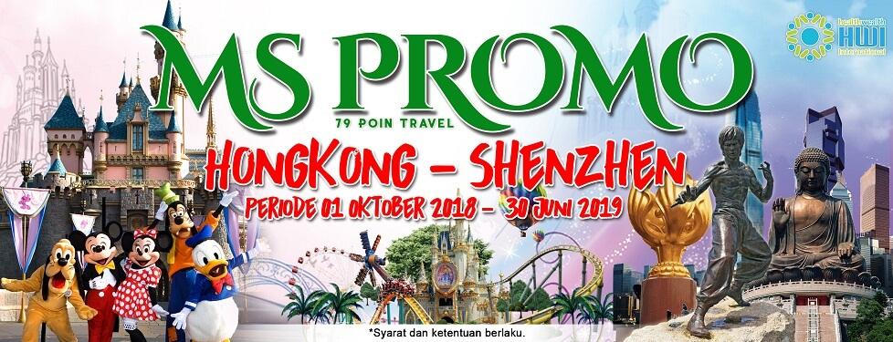 Promo wisata Hongkong - Shenzhen