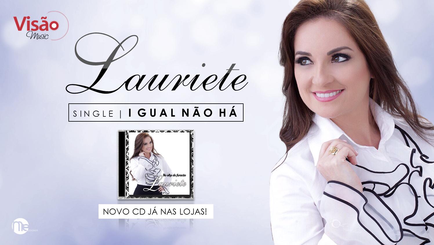 novo cd da cantora lauriete