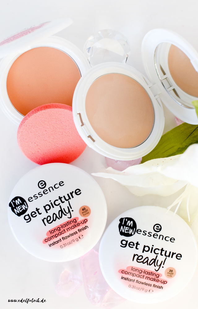 die edelfabrik, essence, get picture ready, long lasting compact, review