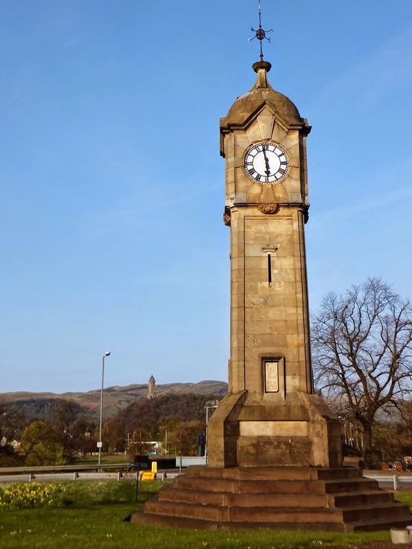Stirling écosse scotland horloge clocktower